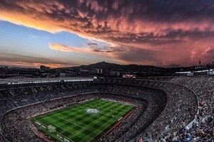 Just a stunning picture of Camp Nou.... #football #soccer #campnou #barca #barcelona #spain #españa