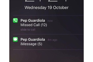 Joe Hart's phone today... #football #soccer #barcelona #barca #messi #neymar #suarez #championsleagu