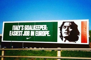 Classic Paolo Maldini advert for Euro '96.... #football #soccer #maldini #italy #italia