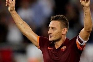 85':Roma losing 2-1 86':Totti subbed on 86':Scores with first touch 89':Scores with second touch FT: