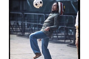 "Bob Marley: ""Football is a whole skill to itself. A whole world. A whole universe to itself. Footbal"
