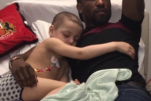 Class from Defoe visiting terminally ill Bradley.