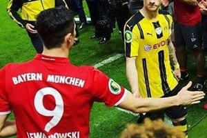 The look on Marco Reus' face says it all... #football #soccer #reus #dortmund #bayern #munich #münch