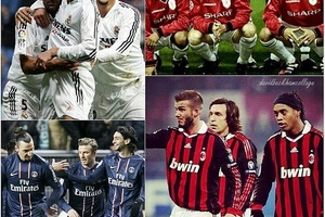 Fact! Beckham played with the very best... #football #soccer #realmadrid #acmilan #milan #milano #ma