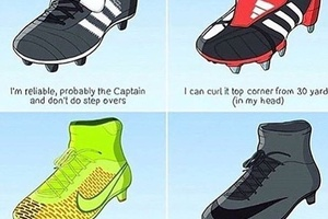 What your boots say about you... #football #soccer #arsenal #chelsea #liverpool #mufc #lufc #barca #