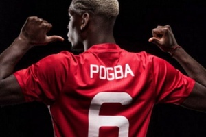 FACT: Paul Pogba shirt sales have now surpassed £190m in just three weeks since he rejoined Man Unit