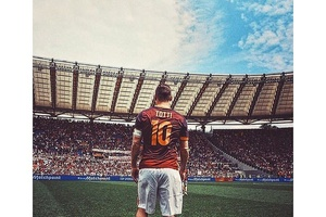 """I cheated on all my girlfriends, but I never cheated on Roma and I never will."" - Francesco Totti."