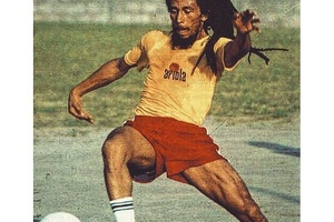 """Football is freedom."" - Bob Marley #football #soccer #bobmarley #reggae #jamaica"