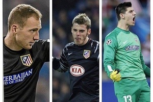 Atletico Madrid. The goalkeeper factory.... #football #soccer #madrid #atleticomadrid #laliga #atlet