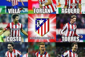 The fire power factory... #football #soccer #atleticomadrid #madrid #spain #españa