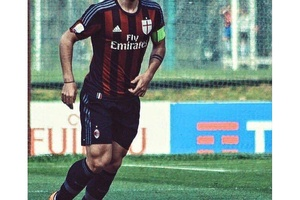 Christian Maldini handed the Captains armband on the weekend. The legacy continues... #acmilan #foot