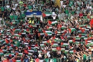 Celtic fans warned by UEFA not to wave Palestinian flags during CL match against Israeli club. They