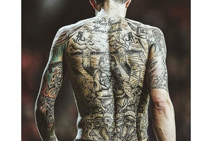 Daniel Agger's back is really something else. #football #soccer #England #Spain #France #Italy #germ