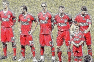 Once upon a time Liverpool... #football #soccer #liverpool #ynwa #anfield #torres #gerrard #premierl