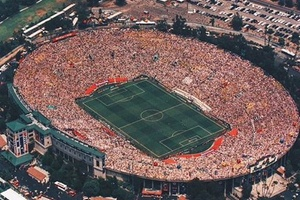 LA Rose Bowl. World Cup Final 1994. Awesome... #football #soccer #worldcup #usa