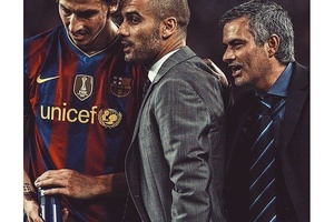 The master of mind games.... #football #soccer #laliga #spain #españa #barcelona #barca #realmadrid