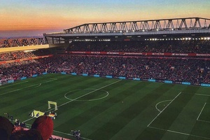 A stunning shot of Anfield anyone? #football #soccer #liverpool #ynwa #lfc #premierleague #epl #bpl