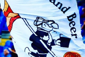 Great flag seen at Roma... #football #soccer #seriea #roma #asroma