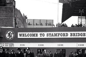 80's Chelsea. £2 entrance. How times change... #football #soccer #chelsea #stamfordbridge #hazard #c
