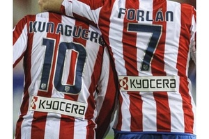Once upon a time in Madrid... #football #soccer #aguero #forlan #atletico #atleticomadrid #madrid #l