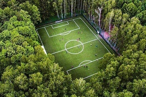 Stunning football pitch in Russia... #football #soccer #Russia #england #france #italy #spain #portu