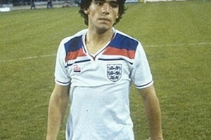 Best player to wear an England shirt? #football #soccer #maradona #england #argentina #worldcup #nap