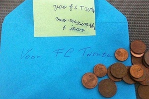 6 year old Twente fan,Maxim sends all his money to the club. Twente got relegated due to financial p